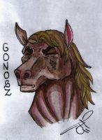 Mean Horse by Pujc