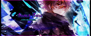 Guilty Crown: Ouma Shu Signature GFX by Nirvaxstiel