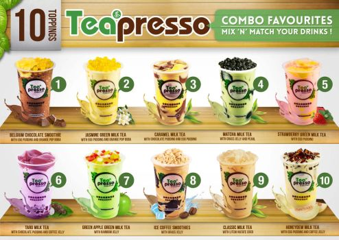 Teapresso 10 Topping by tuankacang