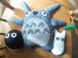 Totoro by mirageant