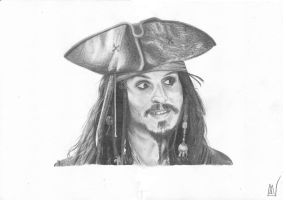 jack sparrow by marcelkiss
