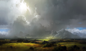 Concept practice 13_landscape with mountains by ivany86