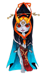 Chibi Midna -True Form- by Ranefea