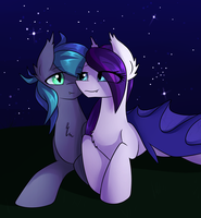 [Commission] Swift Edge and Sweet Hum by NovaBytes