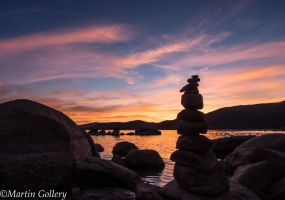 East Shore sunset140630-59 by MartinGollery