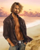 .:Josh Holloway:. by AmberDust