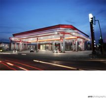 gas station 2 by amirphotography