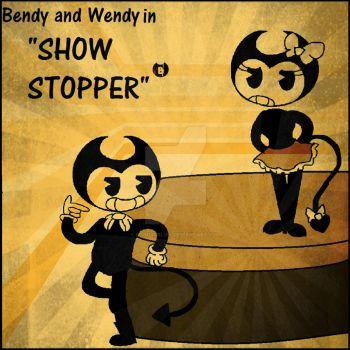 Bendy and the Ink Machine Show Poster. by Sonicgirlify