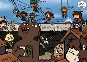 Attack On Mayhem by chibitrinity