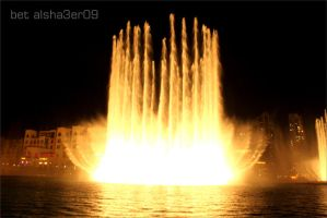 Dubai-fountain02 by B-Alsha3er