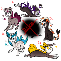 Finnedyr Adopts :Batch 1: :OPEN: by SunnPie
