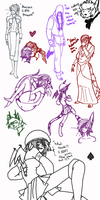 :} Haunting Ground Cross Over Dump {: by Lear-is-not-amused