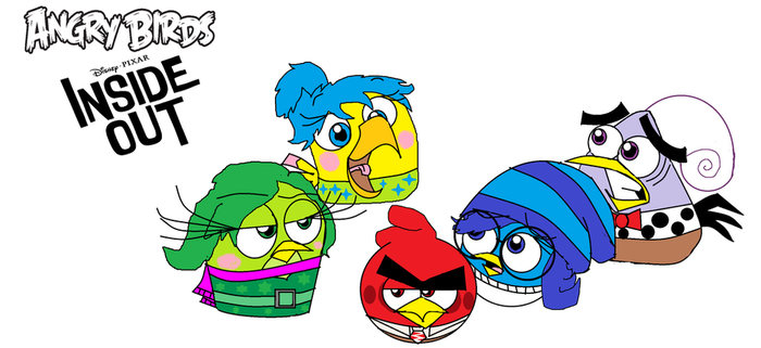 Inside Out Angry Birds! by bluejay5678