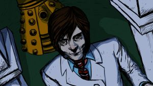 09 05 2012 Doctor Who and Dalek by LineDetail