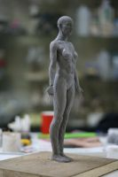Sculpture Girl 2 by k-BOSE