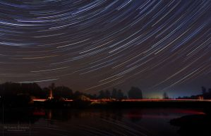 New Years Eve Star Trail. by SCHTARKs-FOTO