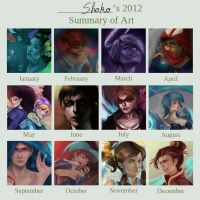 2012 Summary of Art by Sho-kun