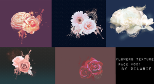 Flowers Texture Pack by IlaryLionLover