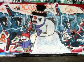 A Snowman is not just for xmas by PIGGHAMMER