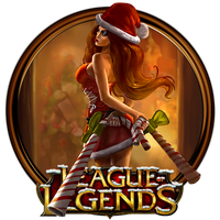 Candy Cane Miss Fortune Dock Icon by OutlawNinja