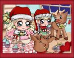 Christmas Bakery Coloring Contest by superwonderland