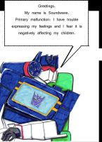 Decepticon Therapy- Soundwave by Fire-Redhead
