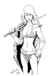 May Patreon Commission: Red Sonja! by woohooligan