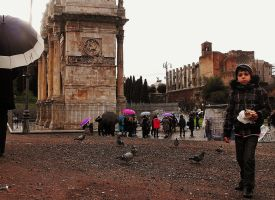 Amongst the Trajan Arch by Flauntycoin4