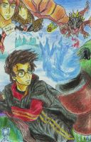 Goblet of Fire type birthday by Tora20