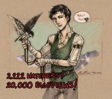 WaP - Thank you for 20,000! by fictograph