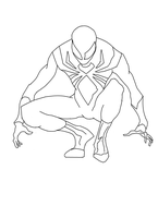 Iron Suit Spiderman Preview by CyberAxl