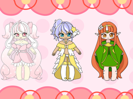 Adoptable Batch Auction  (Winners Announced!) by TsukiHina