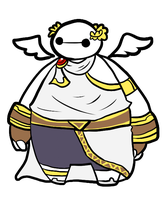I am Baymax, Servant of the Goddess of Light. by KirariRinkan