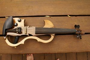 Homemade Violin 2.0 3 by Belize13