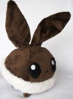 *SOLD* Eevee Plushie by Panda-Prune