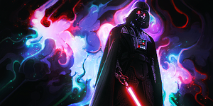 Darth Vader Smudge Tag (Star Wars) by NigglezNGigglez