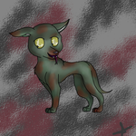 a lil creepy doggy by LOBIKA