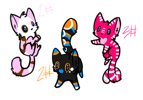 Cat Adopts -Closed- by Scarheart-adopts