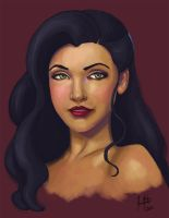 Day 6 - Asami Sato by JessicaNewton
