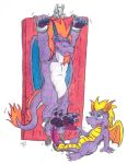 Commish: There's Only Room for One Purple Dragon! by KnightRayjack
