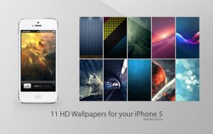 iPhone 5 HD Wallpaper pack by SpeedX07