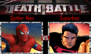 Spider-Man vs Superboy by SonicPal