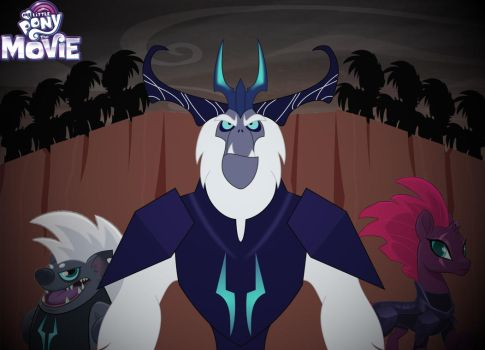 MLP movie: ALL HAIL THE STORM KING (Fan Made) by Movies-of-yalli