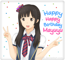Mayuyu 20th Birthday by fenrich08