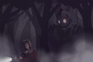 The Iron Giant by mrSteel-man