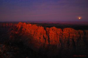 Grand Canyon at Dusk by E-Davila-Photography