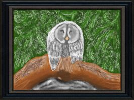 Art Academy - Owl in nature by Chiara79