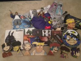 My Gorillaz Stuff by 23-hour-party-people