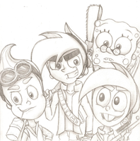Team Nicktoons by Nicktoonacle