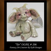 Ter Fantasy Little Creature by KabiDesigns